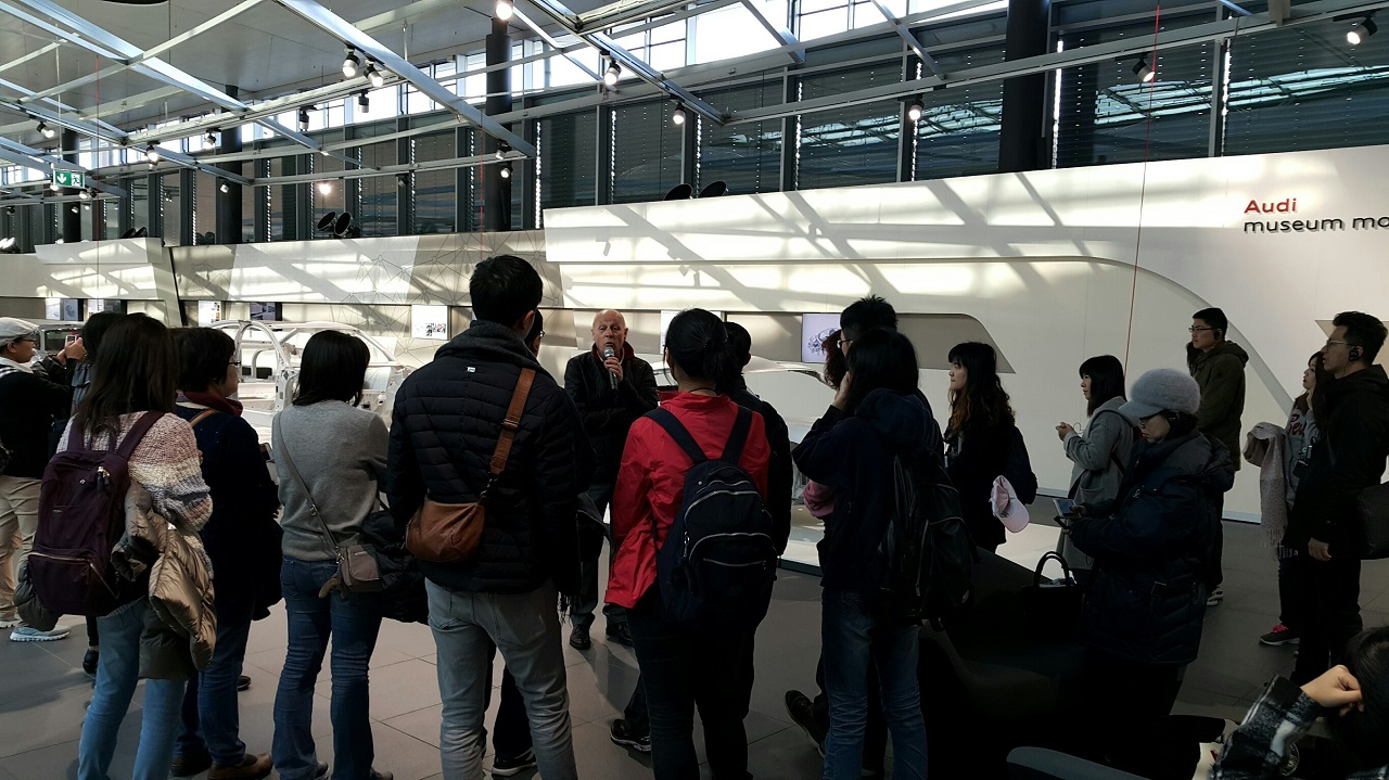 Spring 2017 FJCM Overseas Field Trip to Audi Germany.
